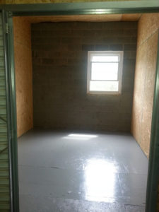 Storage Unit NC With Window 100sq ft.