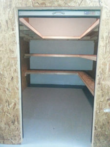 Storage Unit With Shelves Mebane NC 100sq ft.