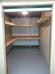 Storage Unit With Shelves & Lights Mebane NC Ready To Rent