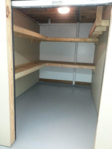 Ruffn Self Storage Mebane NC Large Unit With Shelves